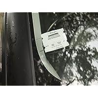 Soporte de parabrisas, tiques de estacionamiento, ideal