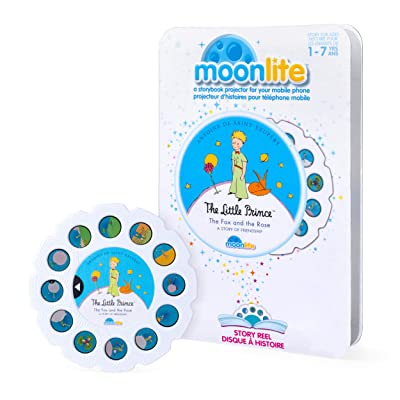 Moonlite - The Little Prince, The Fox & The Rose - A Story of Friendship Story Reel for Storybook Projector, for Ages 1 & Up: Toys & Games