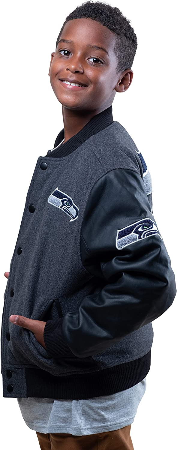 Ultra Game NFL Boys Classic University Varsity Jacket