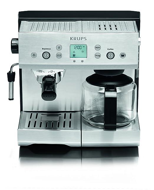 Krups YY8204FD - Cafetera de espresso, 2450 W, 1.1 L, color ...