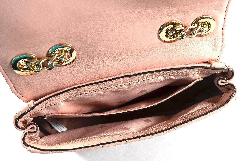 Kate Spade New York Briar Lane Mini sac à bandoulière matelassé Emelyn pour femme Rose