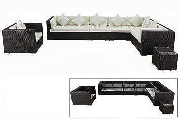 OUTFLEXX stilvolles Loungemöbel-Set, Sitzgruppe aus hochwertigem ...