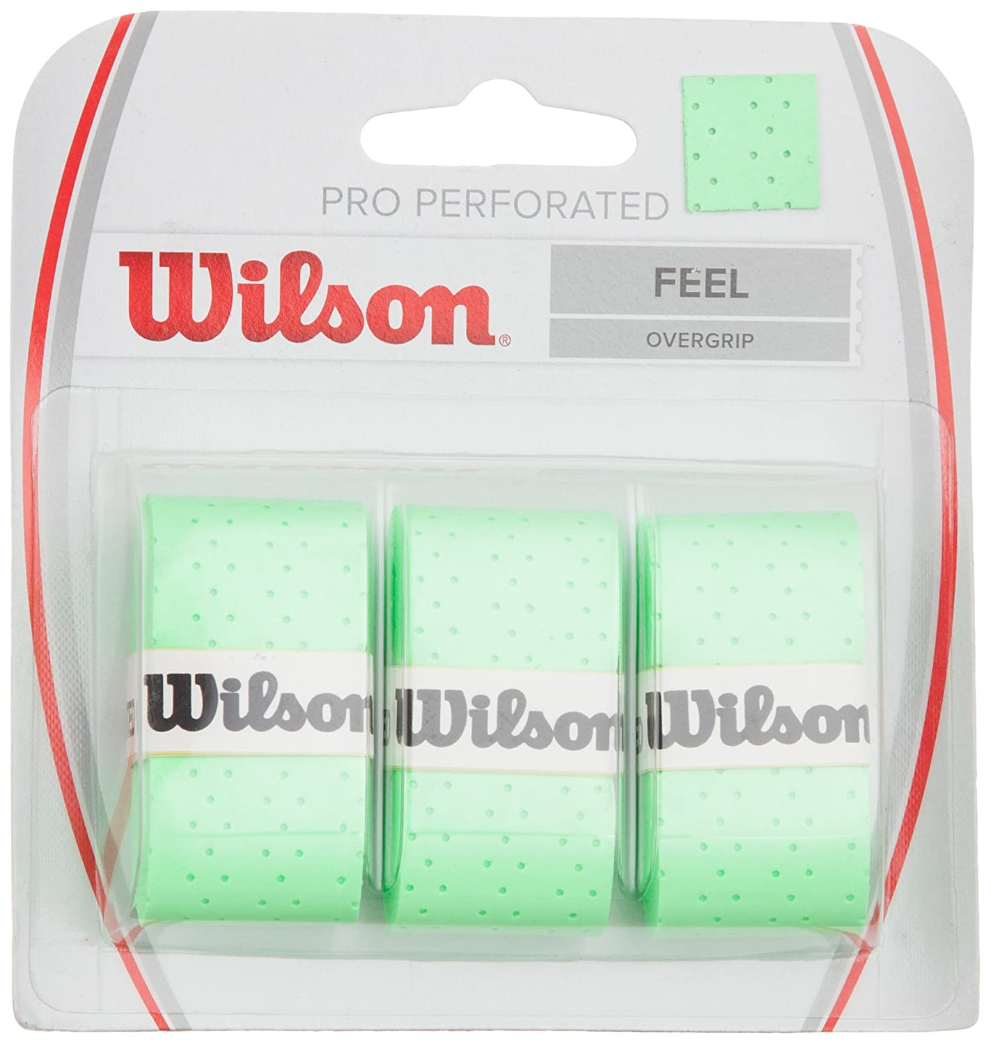 Wilson Perforated Pro Tennis Racquets Over Grip: Amazon.es ...