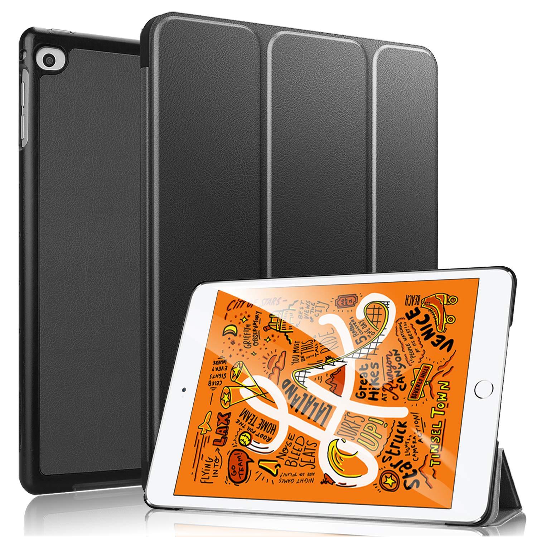 無料配達 HBorna スマートケース B07Q43QWGT iPad Mini 5用 軽量 ブラック 2019 三つ折り スタンドカバーケース iPad iPad Mini 2019 第5世代 7.9インチ用 B07Q43QWGT, NEOLATINE WEB STORE:051349a8 --- webtricky.com