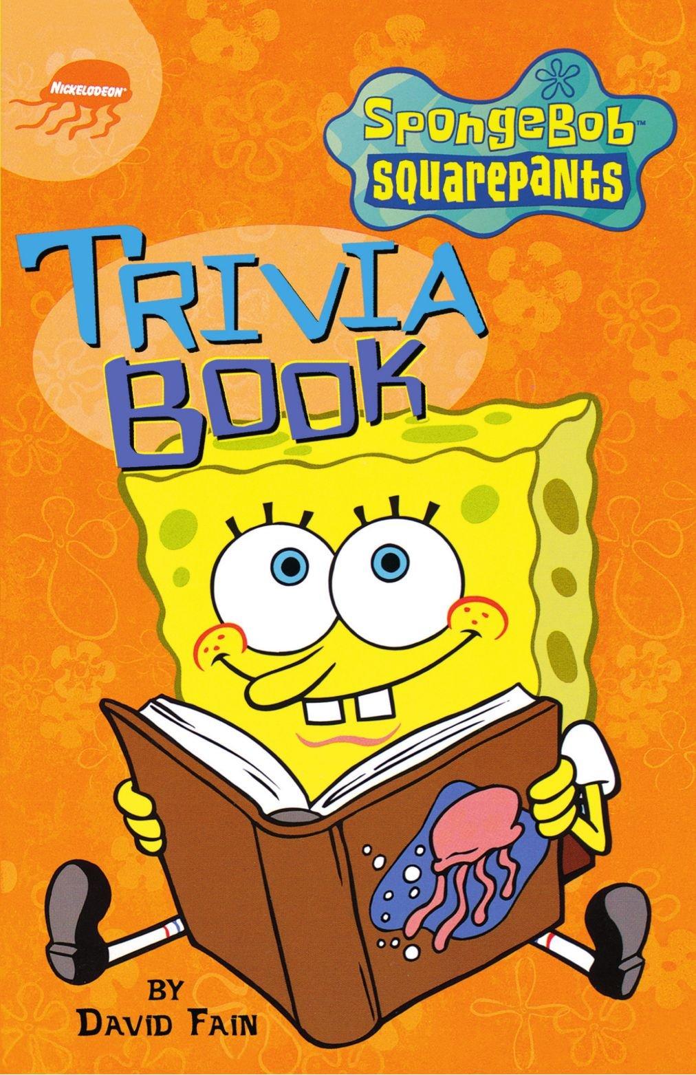 spongebob squarepants trivia book spongebob squarepants humor