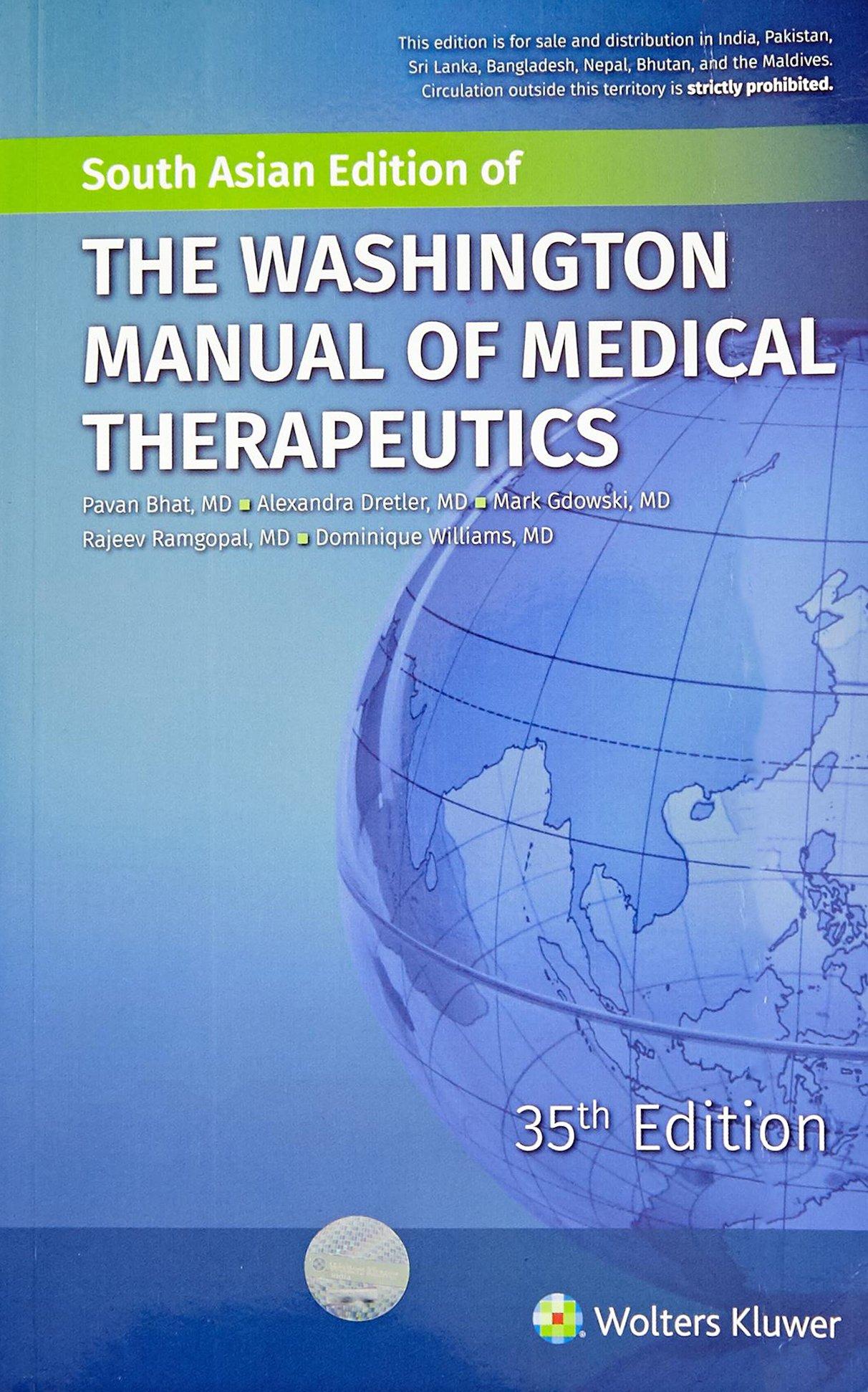 Washington Manual Of Outpatient Internal Medicine Pdf