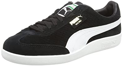 208d1955004a01 Puma Unisex Adults  Madrid Perforated Suede Trainers  Amazon.co.uk ...