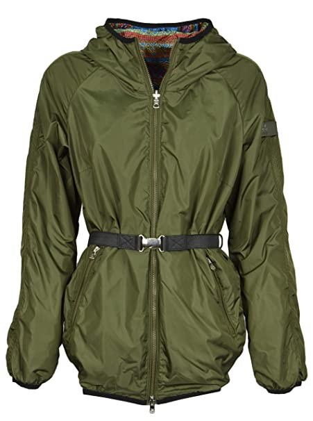 competitive price 85155 0fc6b Peuterey - Donna Parka Reversibile Nylon Verde GIUDY Double ...