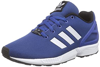 adidas ZX Flux, Baskets Basses Mixte Enfant, Bleu (EQT Blue S16/Ftwr