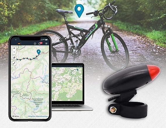 Salind - Rastreador GPS para Bicicleta (1-3 días de duración de la ...