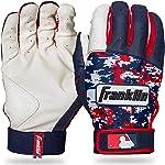 Franklin Sports MLB Digitek Batting Gloves – Youth Batting Glove –
