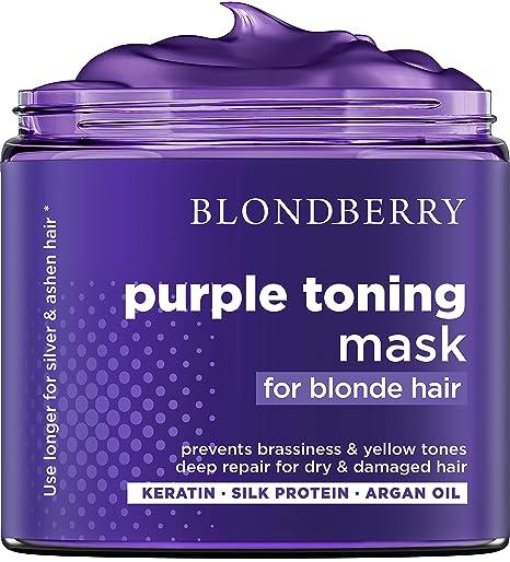 BLONDBERRY purple hair mask