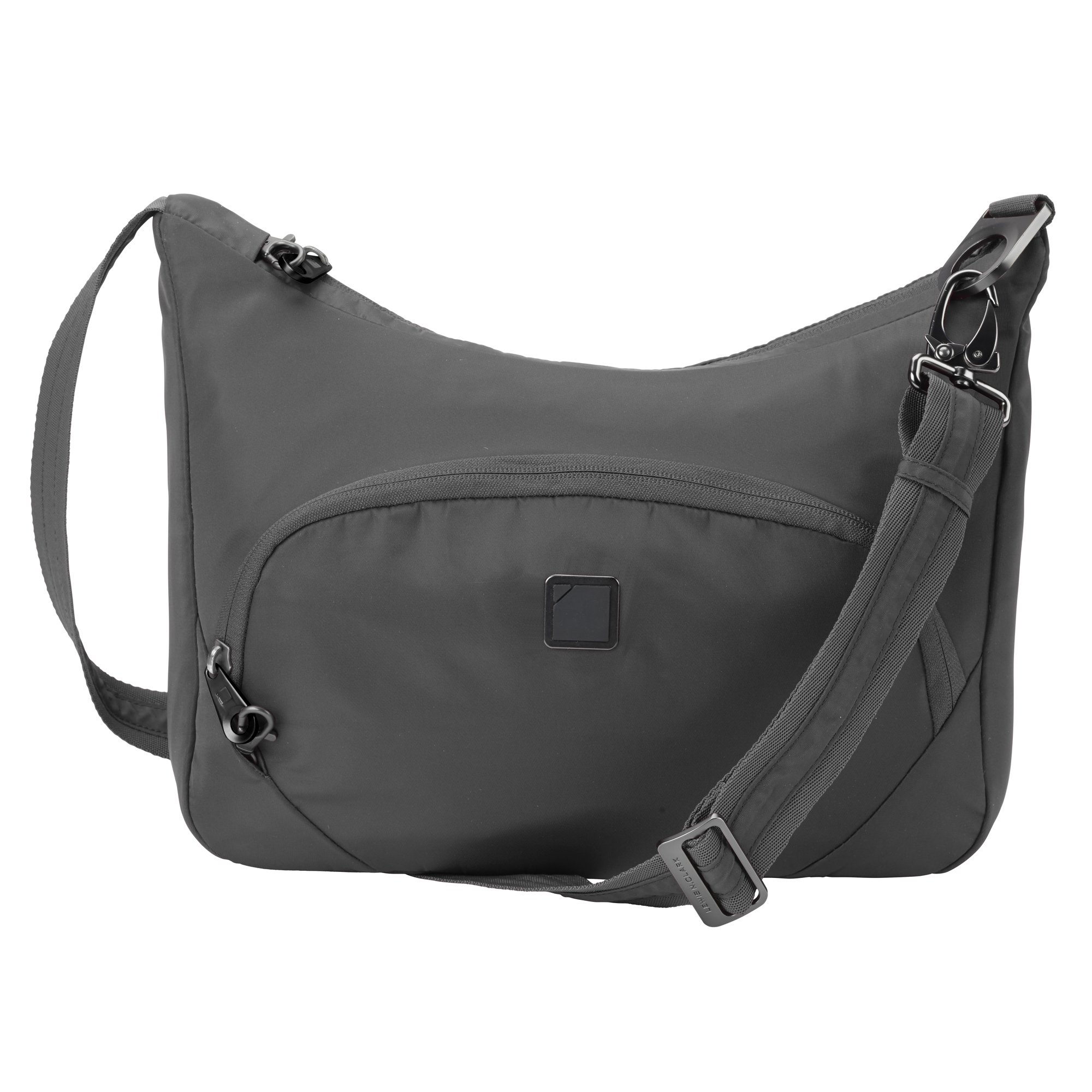 Lewis N. Clark Lewis N. Clark Secura Rfid-blocking Anti-theft Messenger Cross Body Bag, Slate