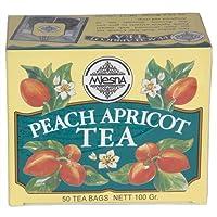 Mlesna Flavoured Tea Bag, Peach Apricot, 100g