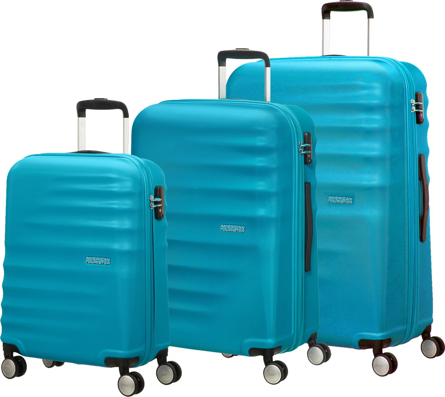 Amazon.com | American Tourister Luggage Set, 77 cm, 96 ...