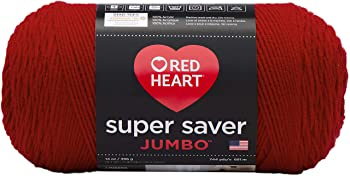 Red Heart Super Saver 100% Acrylic Yarn for Crochet