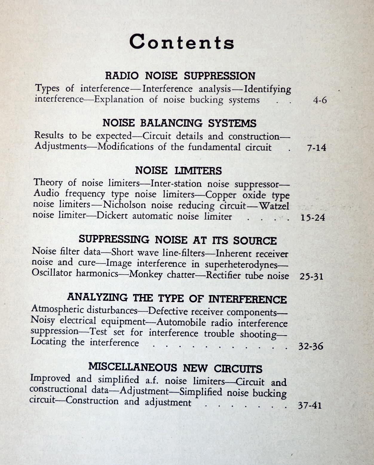 The Radio Noise Reduction Handbook: Ltd  Radio: Amazon com: Books