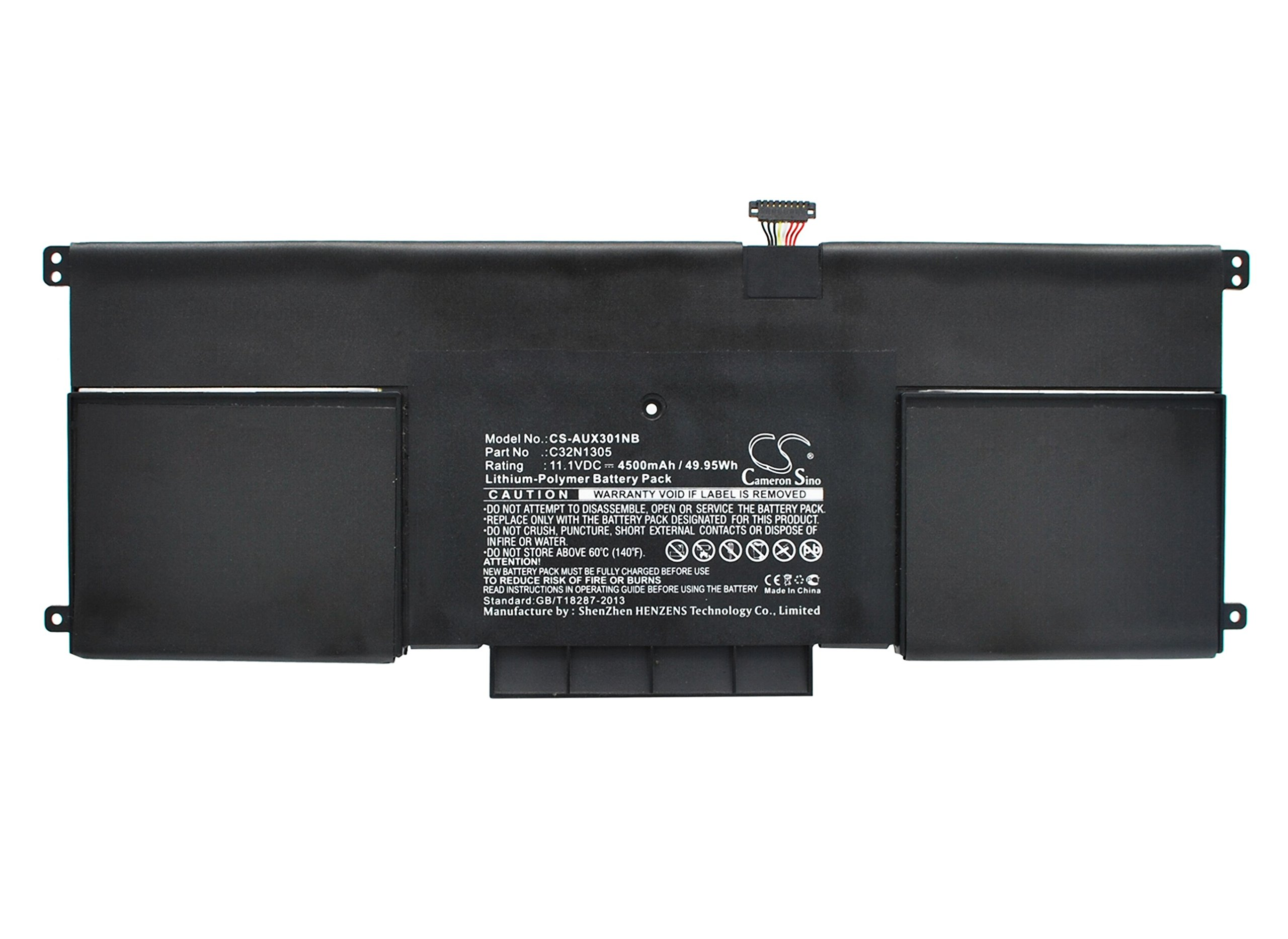 Cameron Sino 4640mAh Replacement Battery Compatible With ASUS C32N1305