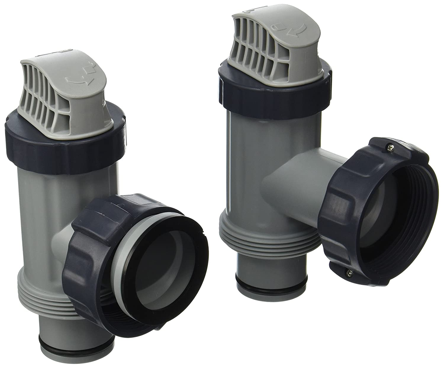Amazon.com: Intex Above Ground Plunger Valves with Gaskets & Nuts  Replacement Part (2 Pack): Garden & Outdoor