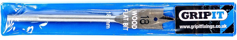 /Gris GripIt gflatbit25/25/mm type de Plat Foret/