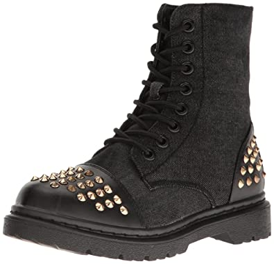 Dancewear Women's Rock Star Studded Combat Boot