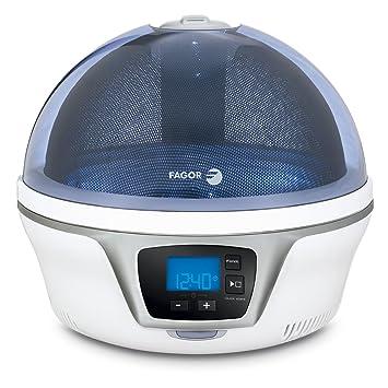 Fagor Spoutnik - Microondas digital, plato 28cm, visión 360º, gama Blue Odyssee