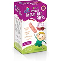 Little Quacker Beetroot and Sweet Potato Flavour Sprouted Brown Rice Puffs, 20 g