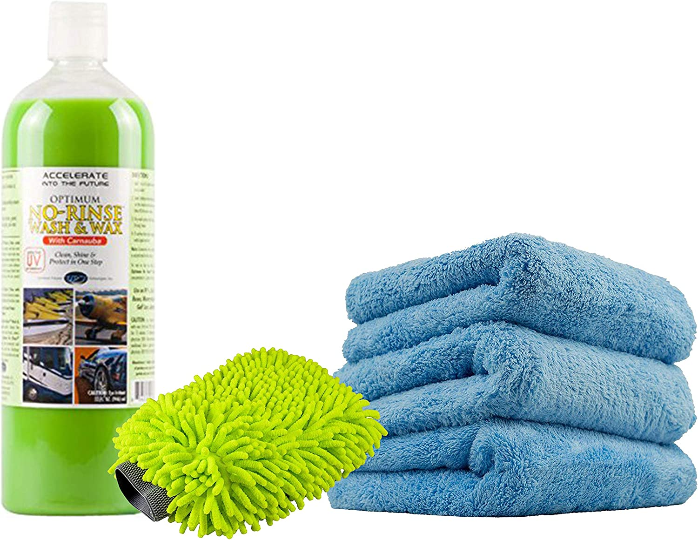 Optimum No Rinse Wash and Wax}