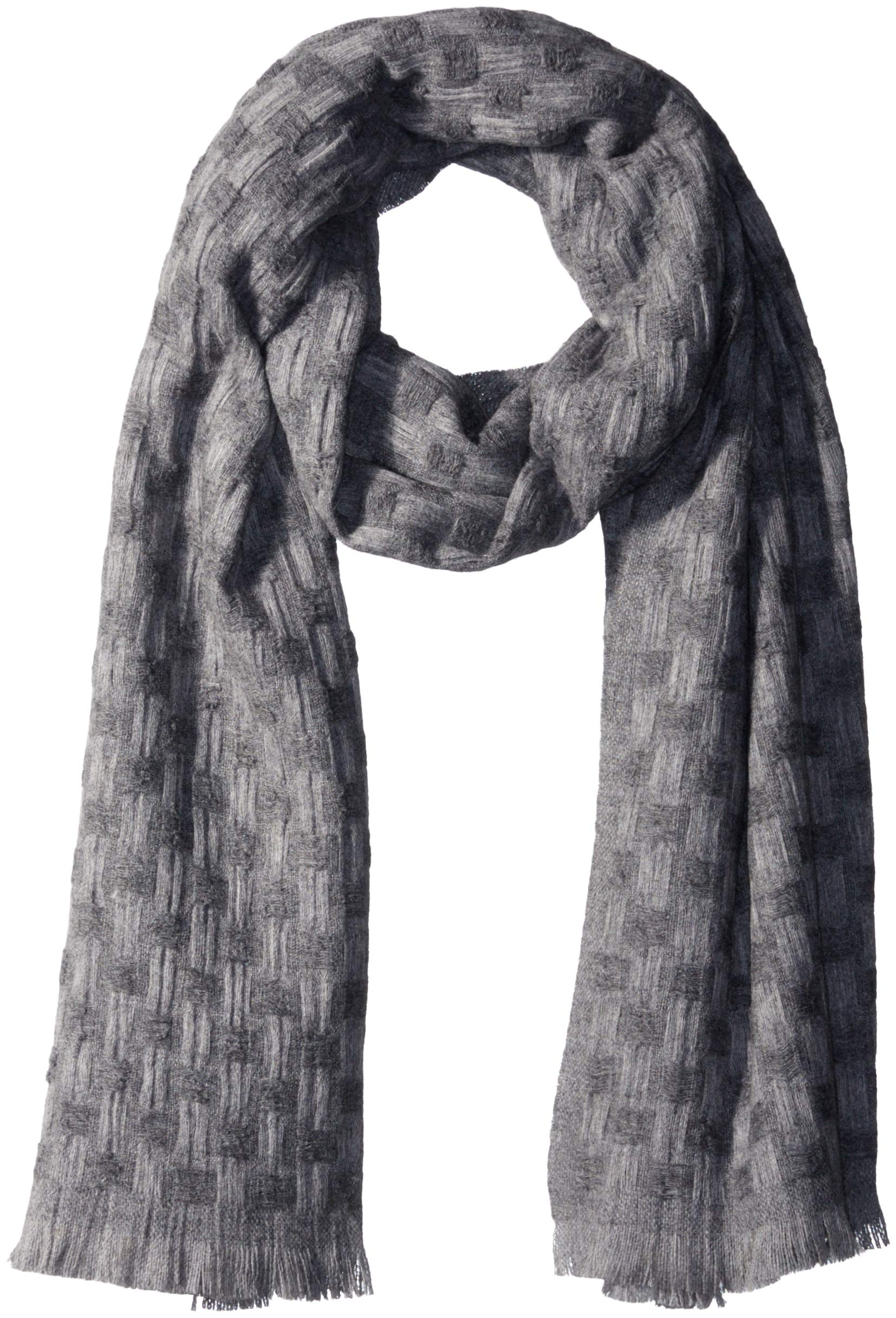 Pendleton Women's Textured Scarf, grey mix One Size