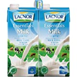 Lacnor Milk Low Fat - 1 Litre (Pack of 4)