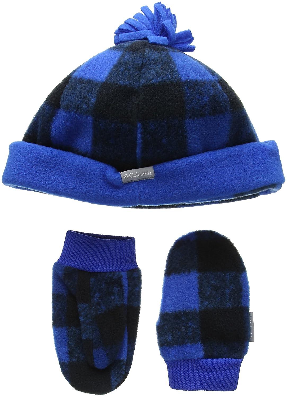 Columbia - Gorro de peluche para niños, Unisex infantil, color Super Blue Buffalo Print, tamaño talla única Columbia Sportswear company 1571491438