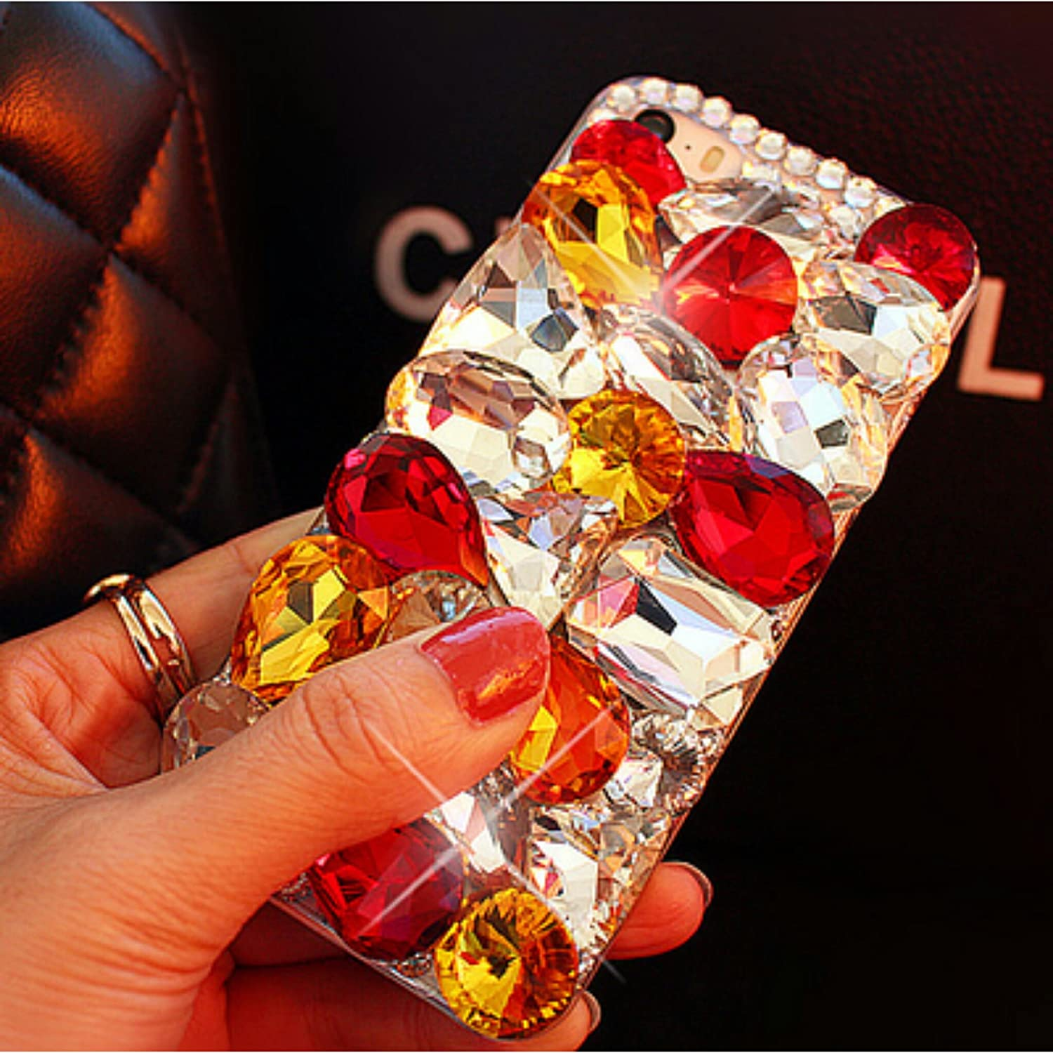 Red & Yellow crystal