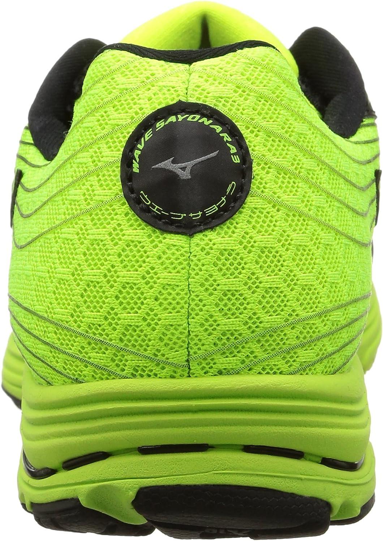 Mizuno Wave Sayonara 3 - para hombre, Black Black/Neon Mint, EU 40 (US 7.5): Amazon.es: Zapatos y complementos