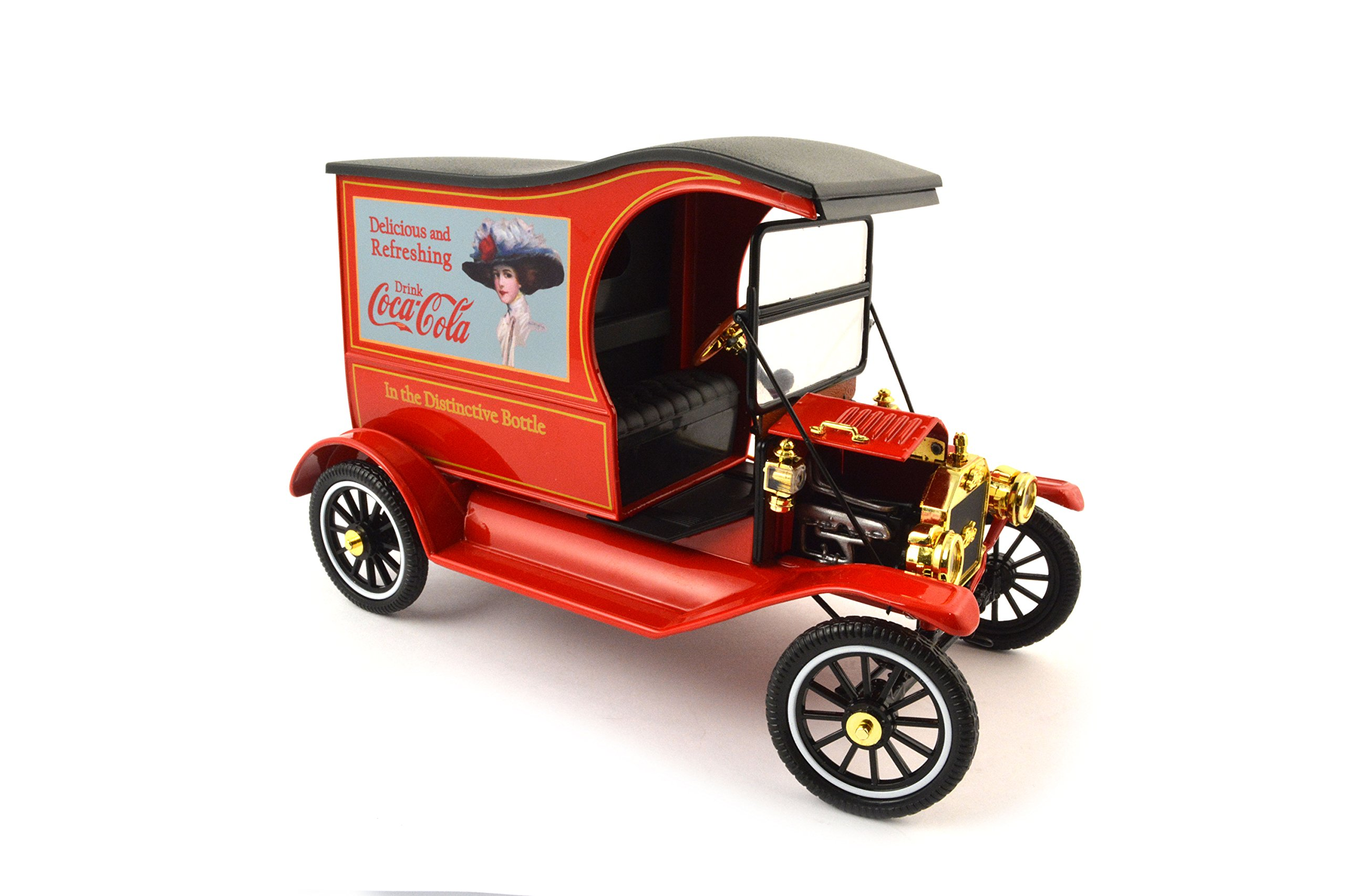 Motor city classics 1917 Ford Model T 'Drink Delicious' Vehicle (1:18 Scale)