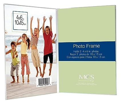Amazon Mcs 4x6 Inch Bent Acrylic Picture Frame Double