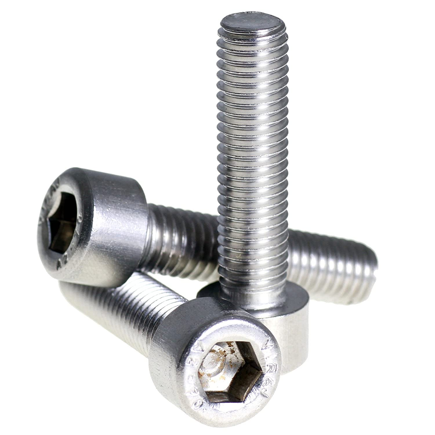 Stainless Steel M5 X 45 Button Socket Head Screw A2 10 Pack