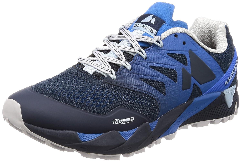 [メレル] トレイルランニングシューズ アジリティピークフレックス2 E-メッシュ メンズ J12509 B077RWLCXH 27.0 cm 2E Directoire Blue