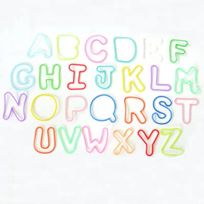 Silly Bandz - Alphabet Pack - 36 Count: Toys & Games