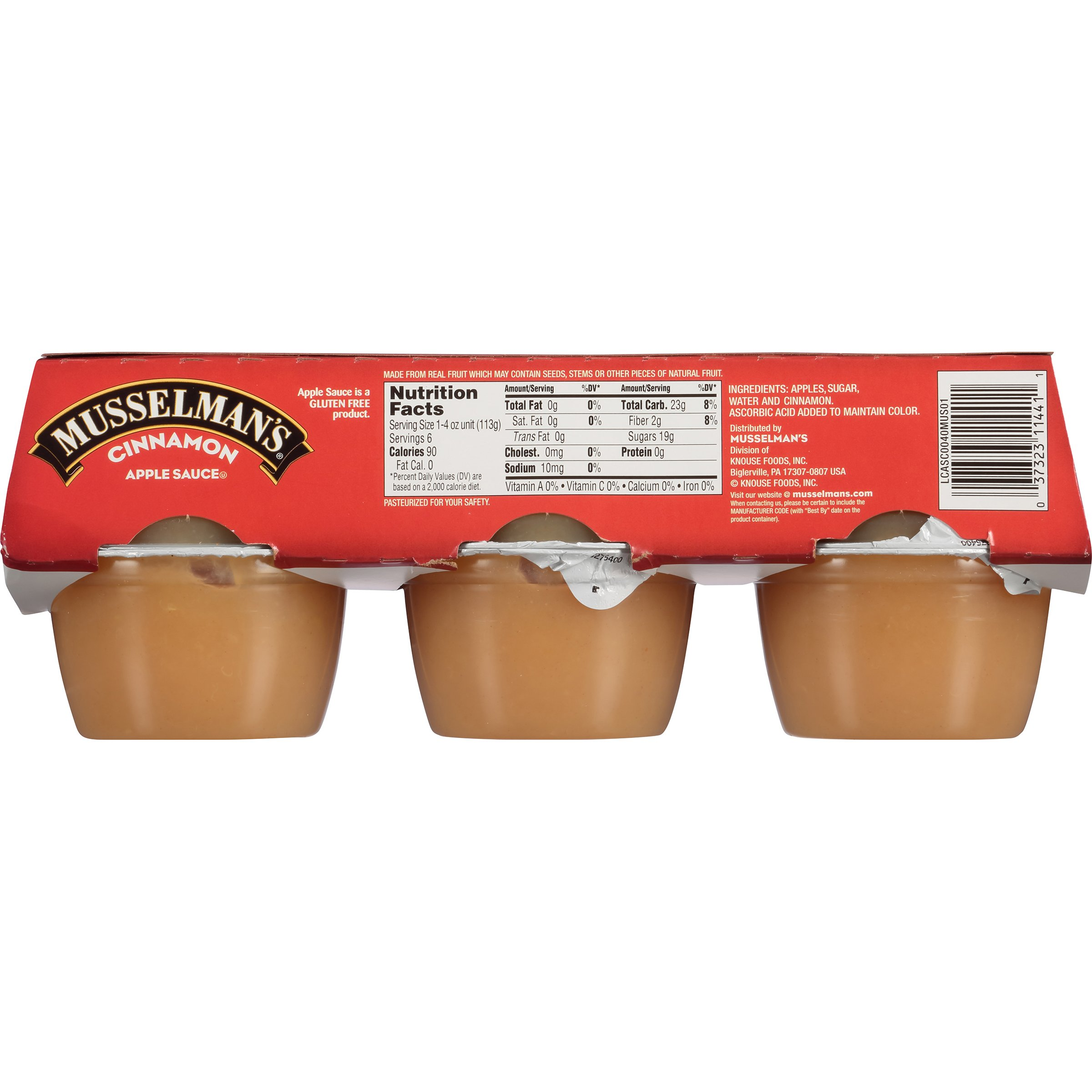 Musselman's Cinnamon Sweetened Applesauce, 4-Ounce Cups (Pack of 72) by Musselmans (Image #3)