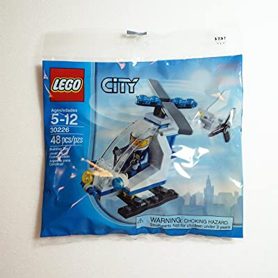LEGO, City, Police Helicopter Bagged (30226): Toys & Games
