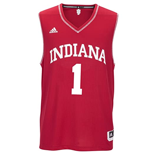 purchase cheap 92998 9f787 NCAA Indiana Hoosiers Men's Basketball Replica Jersey, X-Large, Red