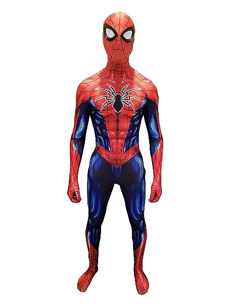 Amazon.com: CosplayLife Disfraz de araña de superhéroe para ...