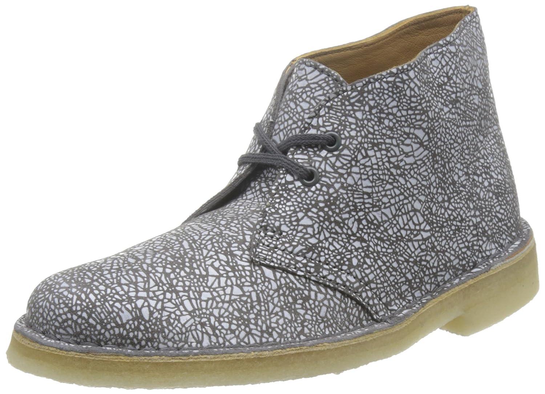 Clarks Boot, Botas Desert para Mujer39 EU|Multicolor (White/Grey)