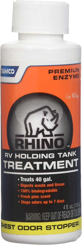 Amazon Com Camco 41515 Rhino Tank Treatment 4 Oz Automotive