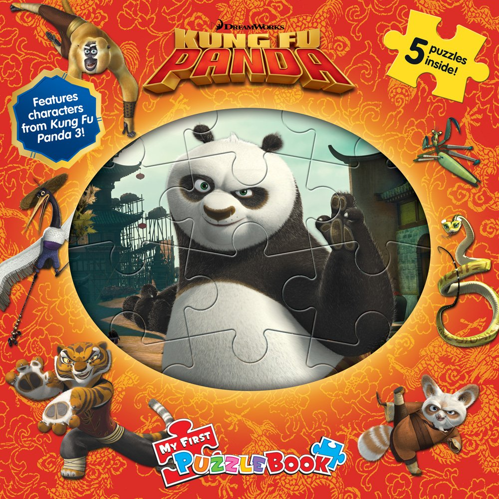 DreamWorks Kung-Fu Panda My First Puzzle Book PDF