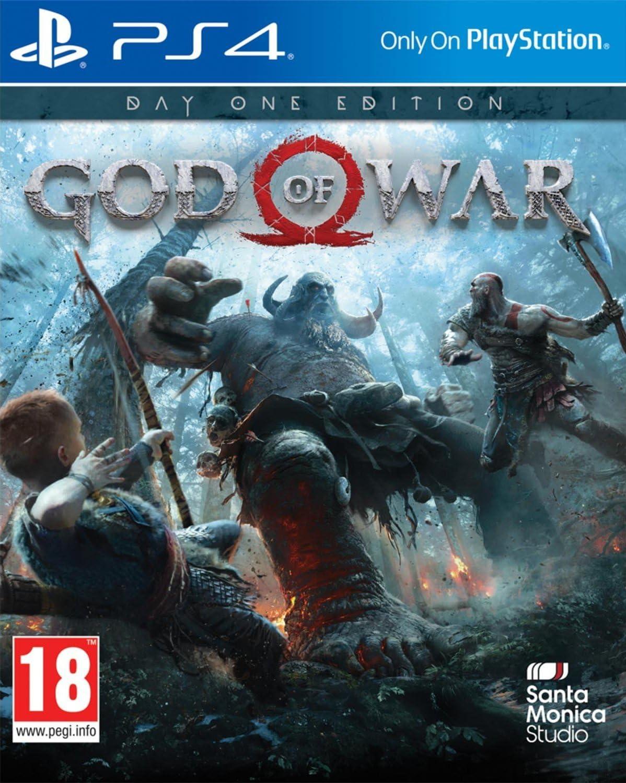 God of War Day One Edition PS4 Game [Importación inglesa]: Amazon ...