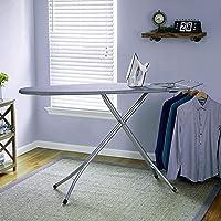 Keekos X-Pres Ace - Large Foldable Ironing Board with Aluminised Ironing Surface (Silver)