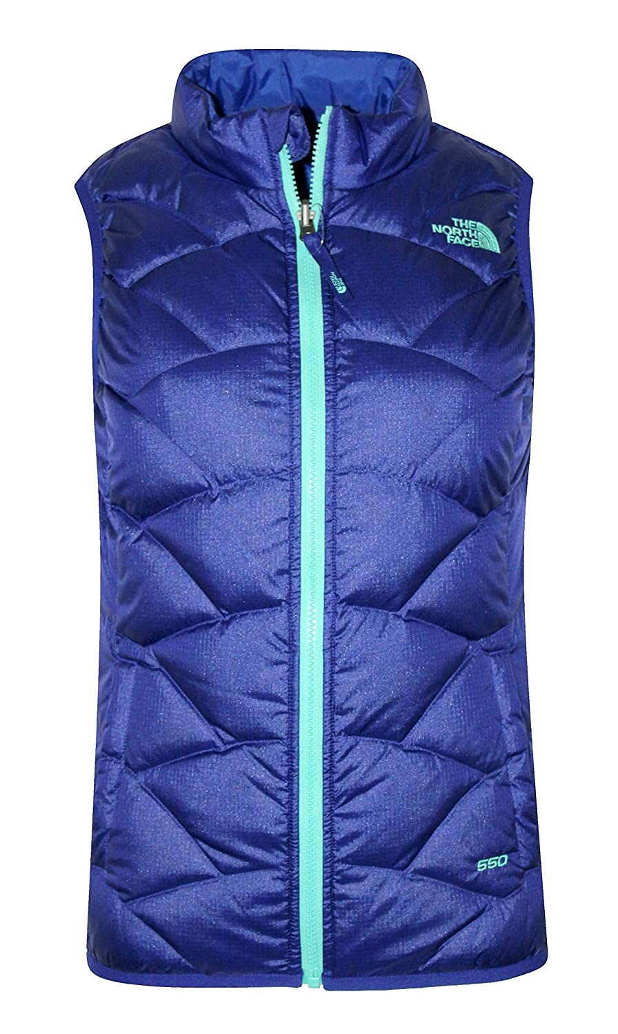 The North Face Youth Girls Luna Reversible Down Full Zip Vest