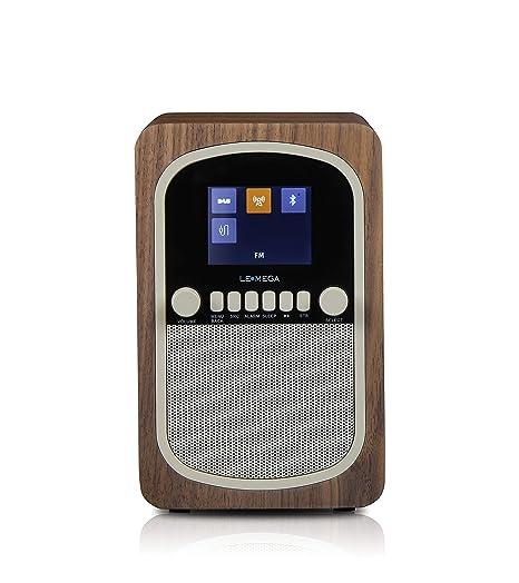 LEMEGA M1 Radio Digital Portátil Con DAB, DAB+, Radio FM, Bluetooth, Repetición
