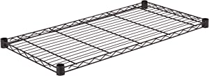 Honey-Can-Do SHF350B1836 Steel Wire Shelf for Urban Shelving Units, 350lbs Capacity, Black, 18Lx36W